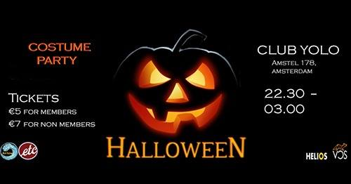 31 Oktober Halloween Amsterdam.Halloween Feest